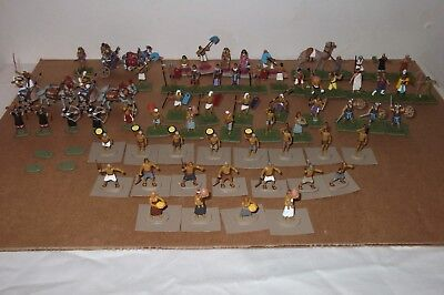 78 Painted 1/72 Scale Figures Ancient Egypt Bronze Age Pharaoh Chariots Peasants