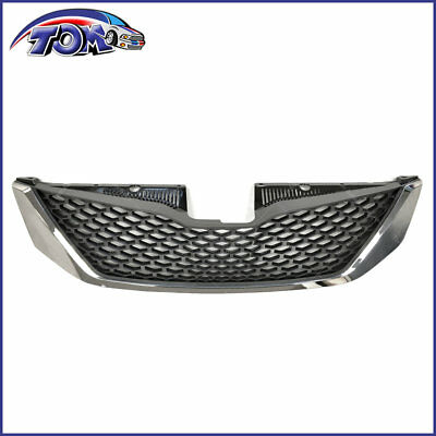 Honeycomb Chrome Front Bumper Upper Grille Assembly For Toyota Sienna 2011-2017