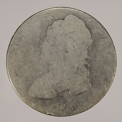 1836 50c CAPPED BUST HALF DOLLAR - LETTERED EDGE - LOT#H102