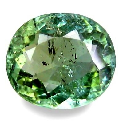 1.400Cts Phenomenal Fire Sparkling! Natural Superb Blue Green Natural Tourmaline
