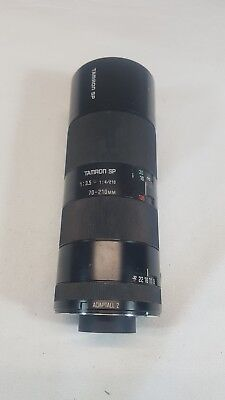 Tamron SP Adaptall 2 70-210mm f3.5-4.0 MC CF Telephoto Macro Lens Canon FD