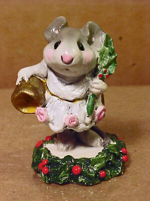 "Wee Forest Folk Mouse CC-4 ""GHOST OF CHRISTMAS PAST""-1987-By AP-Retired"