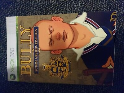 Xbox 360 Manual For Bully ( No Disc) Manual Only