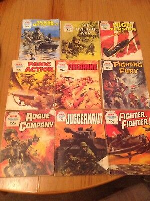War Picture Library Comic Job Lot Bundle 9