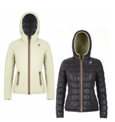 KWAY GIUBBOTTO DOUBLE face nero e grigio Lily Thermo Plus Double per ... a574649b626