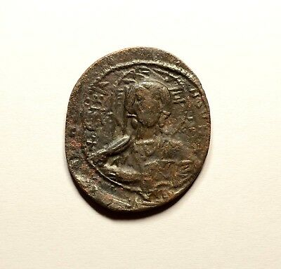 Basil II 976-1028 AD Anonymous Follis - ANCIENT BYZANTINE COIN