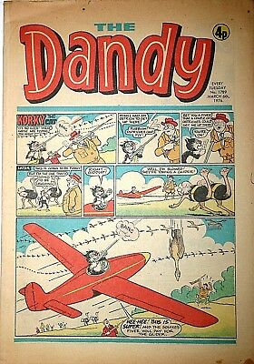 The Dandy Comic Number 1789 March 6th 1976 Collectors Comic Book Rare