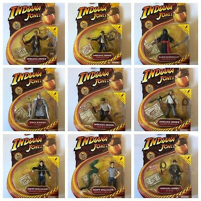 Hasbro Indiana Jones Movie Series Action Figure Moc To Choose A Choisir 2008