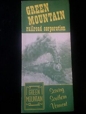 1970 Green Mountain Railroad Corporation Timetable  ( Southern Vermont).
