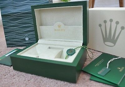 Rolex Watch Box Geneve Suisse. Paperwork Wallet&Outer Box.