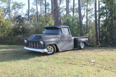 1958 Other Pickups -- 1958 Chevrolet 3100 Apache   Black  350 V8 Vortec 400 trans