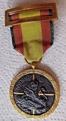 Spanish Civil War Medal For The Campaign Of 1936-1939