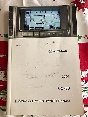2009 Lexus GX 470 Navigation System Owners Manual