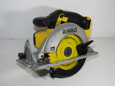 DeWalt XR DCS391 165mm 18V Cordless Circular Saw BARE Unit fully working