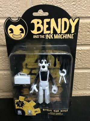 """Bendy And The Ink Machine """"BORIS THE WOLF"""" Series 1 Action Figure Brand New"""