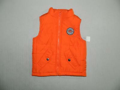 KS680 Kids Headquarters Baby Boys Puffer Zipper Vest 100% Polyester NWT Size 24M