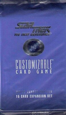 Stat Trek White Border Edition Booster Customizable Card Game - Englisch