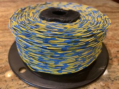 Cross Connect Wire 1000 Feet CCW-F 1P/24AWG Yellow/Blue Damaged Reel