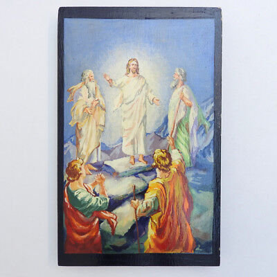 The Transfiguration of Christ Hand Painted Icon
