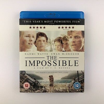 The Impossible (Blu-ray, 2013) s