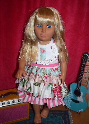 Brand New Adorable Doll Outfit Clothes fits 18 inch American Girl Doll Floral