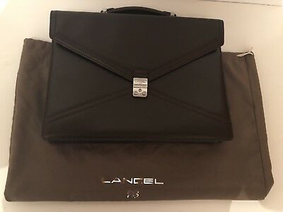 Cartable Lancel Cuir