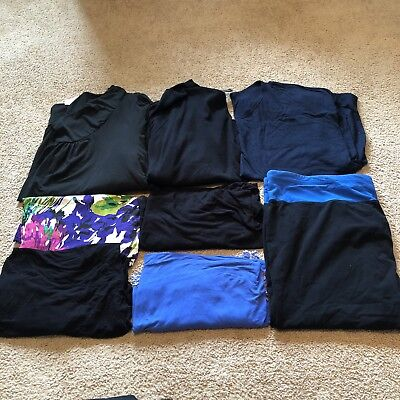 Womens Plus Size 4X (26/28) - Lot Of 8 Items - Lane Bryant, Old Navy, JMS