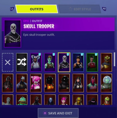 RANDOM FORTNITE account PC 5-25 skins limited offer
