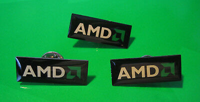 3 Pins / Anstecker: AMD - Advanced Micro Devices