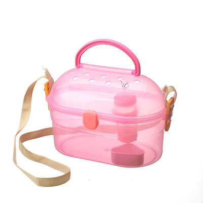 Guinea-pig Carry Cage Transport Box Carrier Pet Hamster Small Animal Carrying
