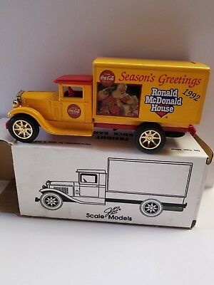 Ronald McDonald House ~ Freight Truck Bank ~ Christmas 1992 ~ in box