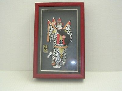 Chinese Opera Mask Framed
