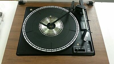 vintage BSR record player turntable