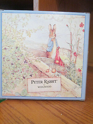 Wedgwood PETER RABBIT BIRTHDAY Plate 1998 New In Box