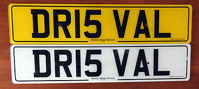 Private/Personal Car Reg.Plate DR15VAL DOCTOR IS VAL.With retention paperwork