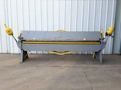 Manual Press Brake, Capacity 10' x 16GA