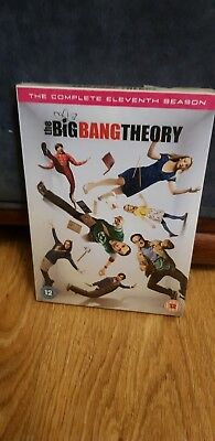 Big Bang Theory Season 11 Uk Region 2 Brand New And Sealed