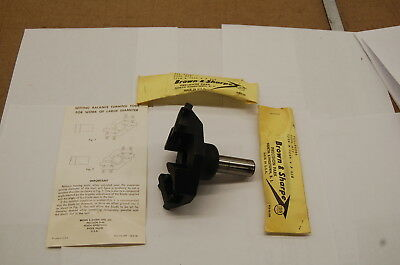 Brown & Sharpe No. 20D Balance Turning Tool w/Instant Blade Setting