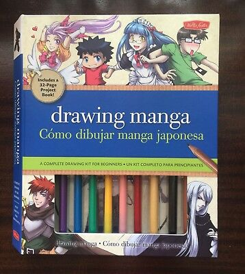 drawing manga: a complete drawing kit for beginners by Walter Foster