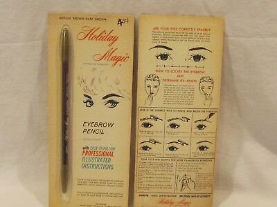 Vintage Holiday Magic eyebrow pencil lot of 2 by Ern Westmore