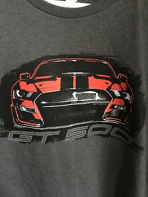 Ford Mustang Shelby GT500 Racing Muscle Car T-Shirt New  XL
