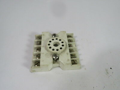 2 QTY CUS12 CURTIS 11 PIN RELAY SOCKETS FOR 3PDT SQUARE BASED PLUG-IN RELAYS