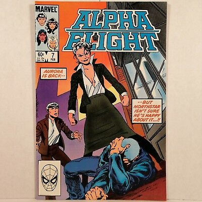 Alpha Flight - Vol. 1, No. 7 - Marvel Comics Group - February 1984 - No Reserve!