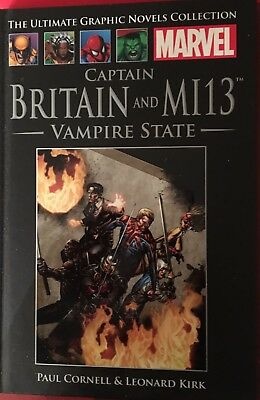 Captain Britain And MI13 Vampire State (Ultimate Graphic Novel Collection)