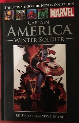 Captain America - Winter Solider (Ultimate Graphic Novel Collection)