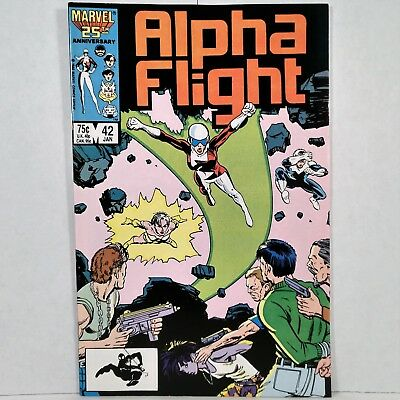 Alpha Flight - Vol. 1, No. 42 - Marvel Comics Group - January 1987 - No Reserve!