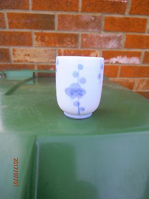Signed Japanese Blue & WhiteTea Cup