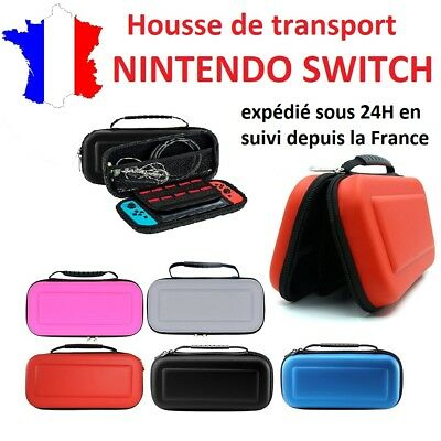 Housse de protection / sac de transport EVA pour nintendo switch - case étui