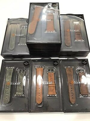 Wholesale Pack Of 17 Genuine Leather Watch Band Stainless Apple iWatch 42mm