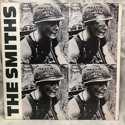 The Smiths Meat Is Murder 1985 Sire Lp